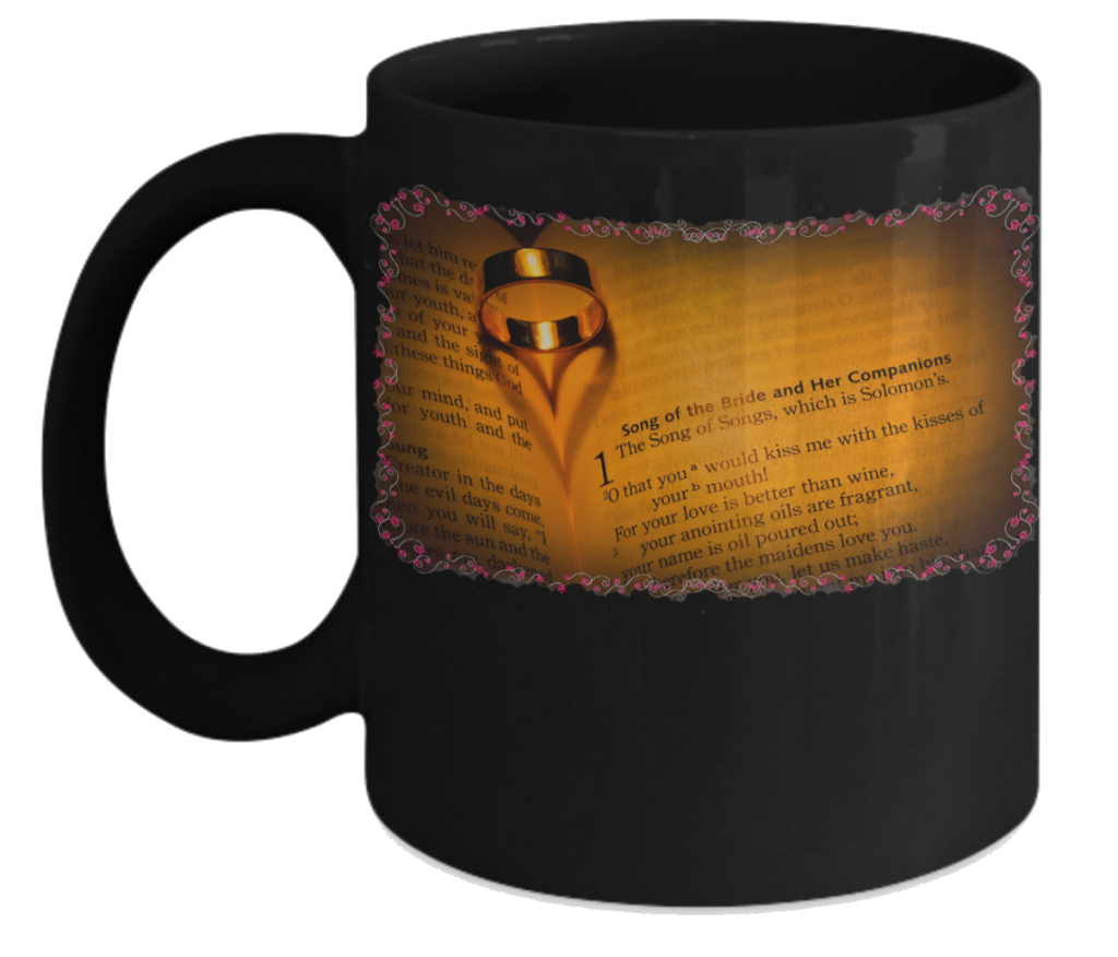 SOng of Solomon coffee mug